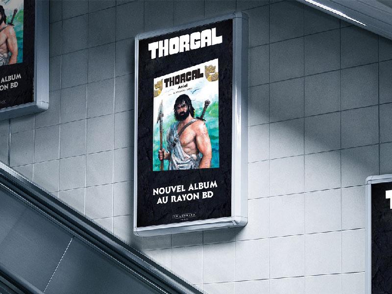 Thorgal - publicité numérique